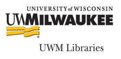 UWM Libraries
