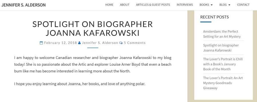 Alderson Blog