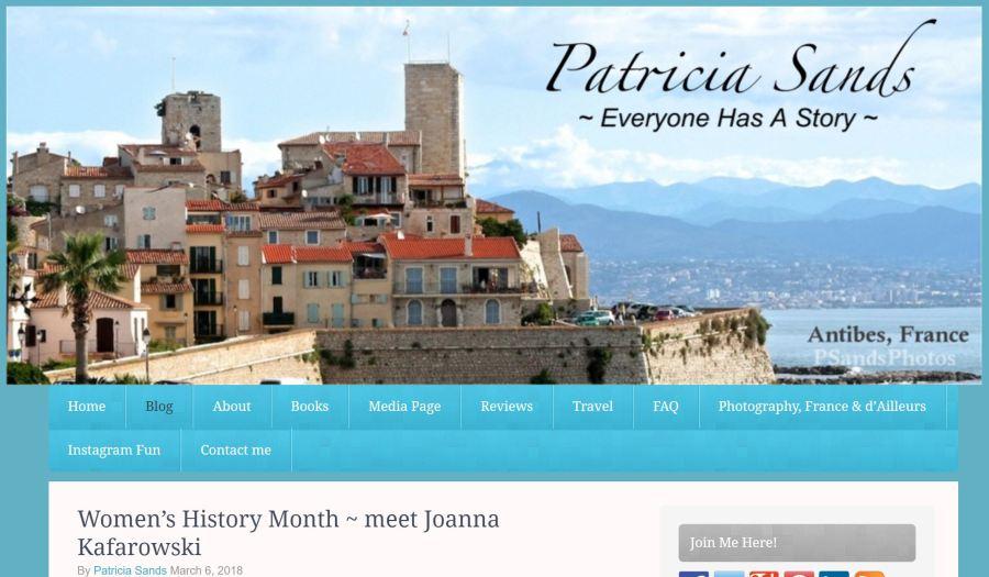 Patricia Sands Blog