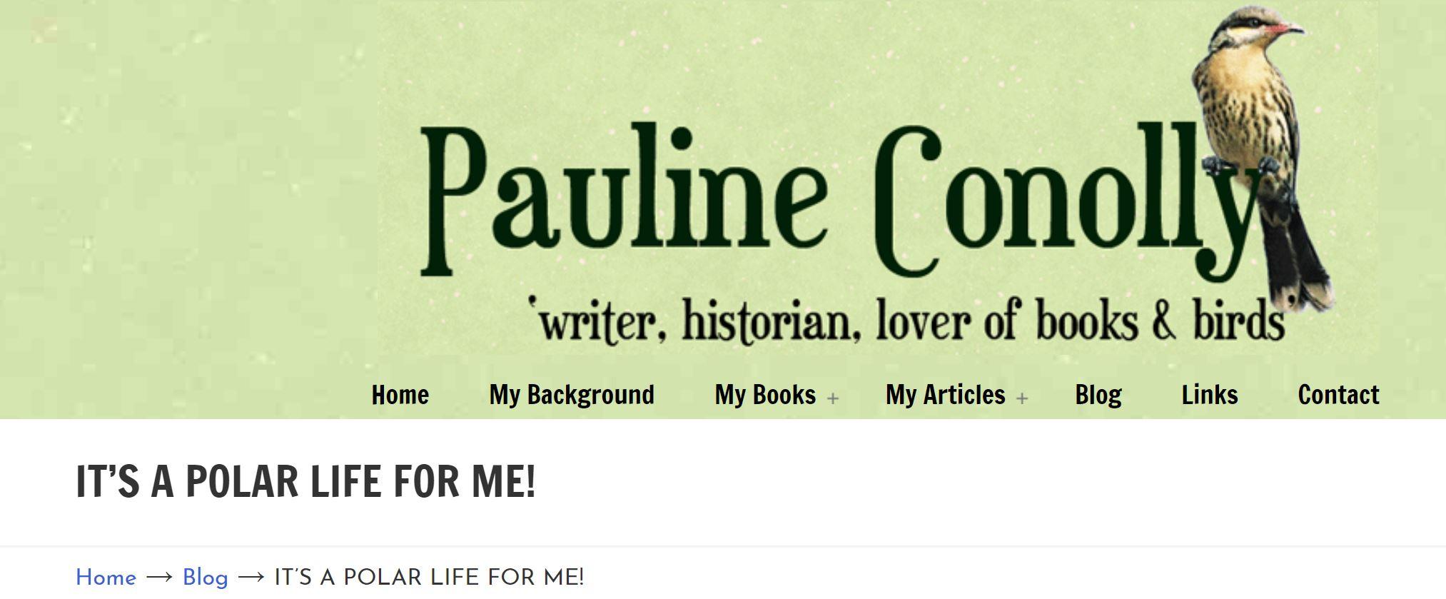 Pauline Conolly Blog